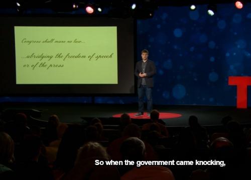TED報道の自由