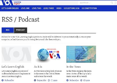 voa podcast