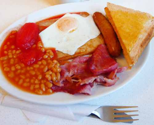 イギリスの朝食