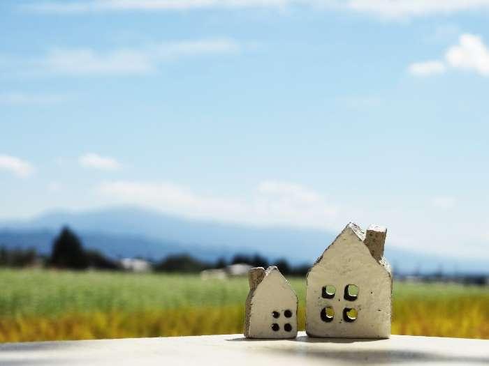幸せそうな家