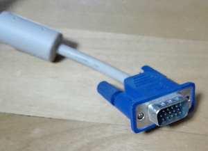 モニター接続端子