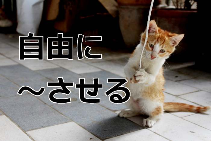 「let」英語
