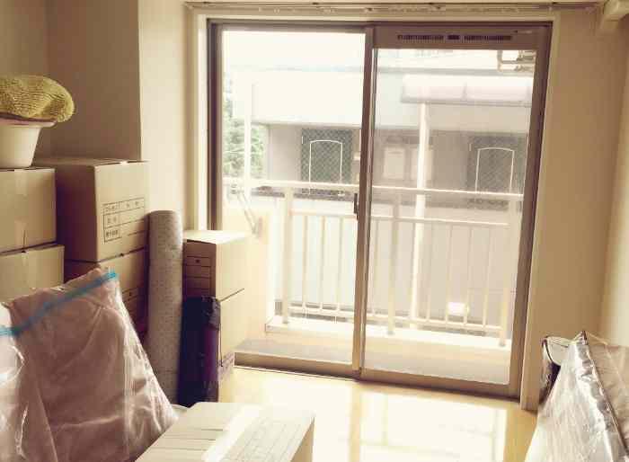 引っ越し先の部屋
