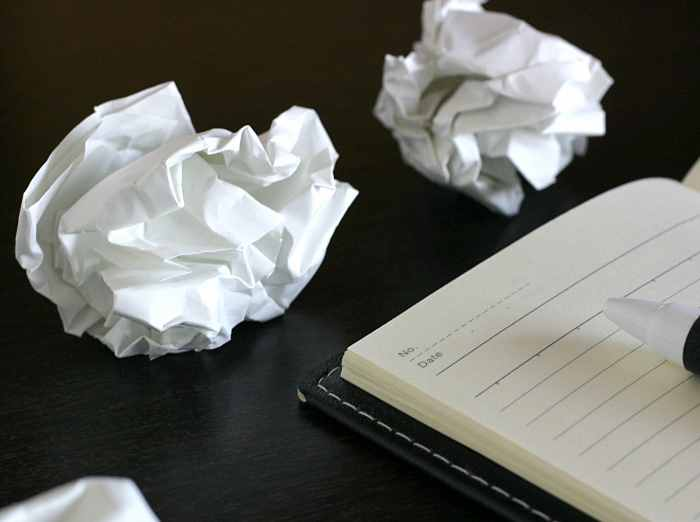 紙くずとノート