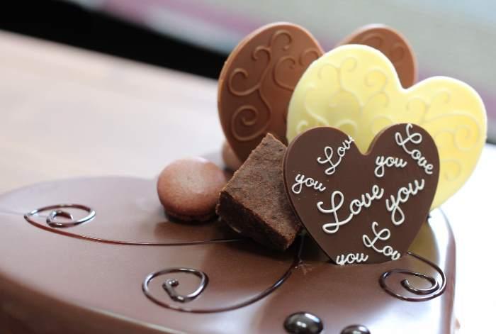 バレンタインのチョコレート