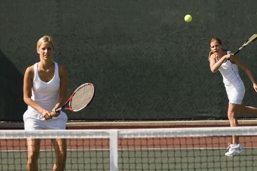 テニスのダブルス
