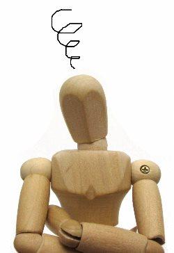考える人形
