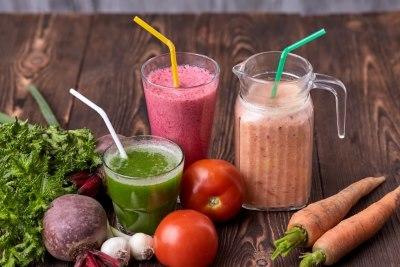 野菜とジュース