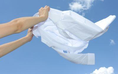 洗い立ての綺麗なシャツ