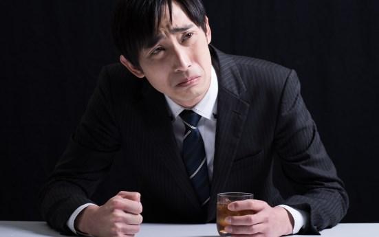 残念な顔の男性