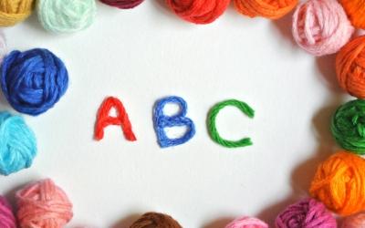 毛糸とABC